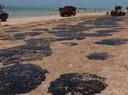 Litoral Norte de Alagoas foi bastante atingido pelas manchas de óleo na praia