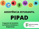 Assistência Estudantil - PIPAD